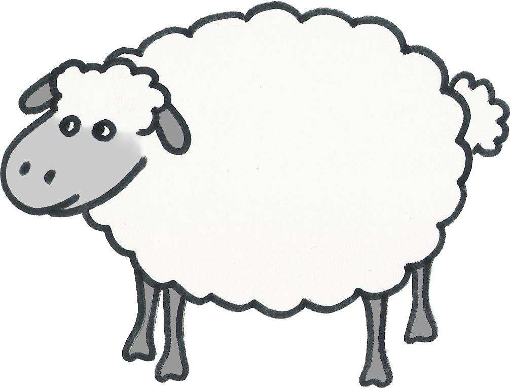 lamb cut out template - motion graphics megablog danny michael